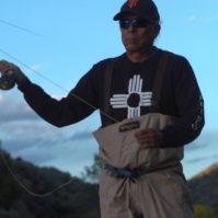 Louie Hena fishing on the RIo Grande | Photo: Justin Clifton