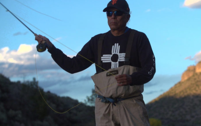 Louie Hena fishing on the RIo Grande | Photo: Justin Clifton