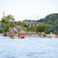 Paddling the Potomac   Rebecca Long